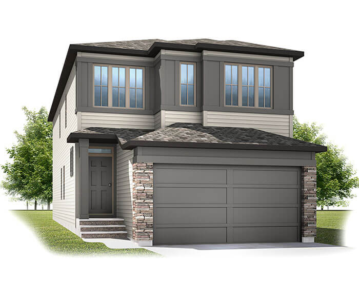 New home in SABAL in Cornerbrook, 2,313 SQFT, 4 Bedroom, 2.5 Bath, Starting at 510s - Cardel Homes Calgary