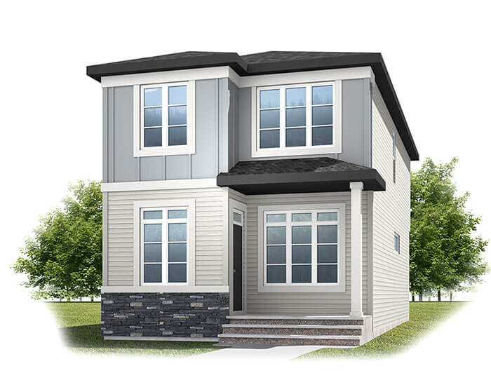 New home in TARMON in Cornerbrook, 1,620 SQFT, 3 Bedroom, 2.5 Bath, Starting at 390s - Cardel Homes Calgary