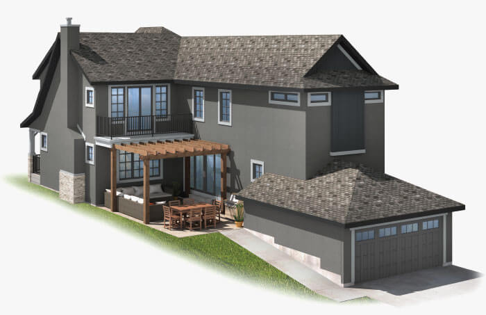 New Calgary Single Family Home Ivey Court in Shawnee Park, located at 350 SHAWNEE BOULEVARD SW Built By Cardel Homes Calgary