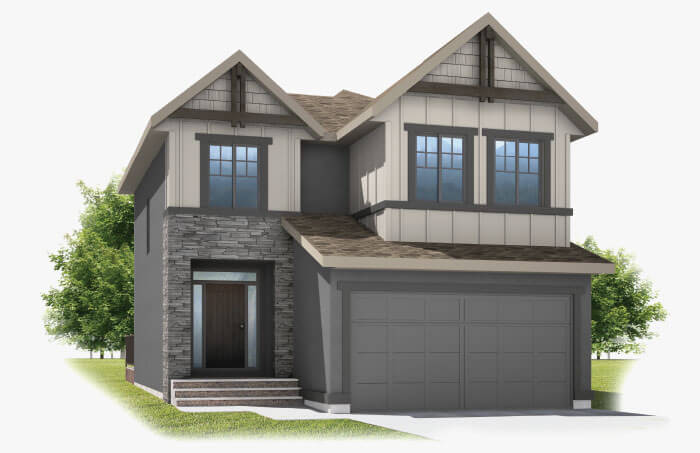 New Calgary Single Family Home Miro 2 in Shawnee Park, located at 330 SHAWNEE BOULEVARD SW Built By Cardel Homes Calgary
