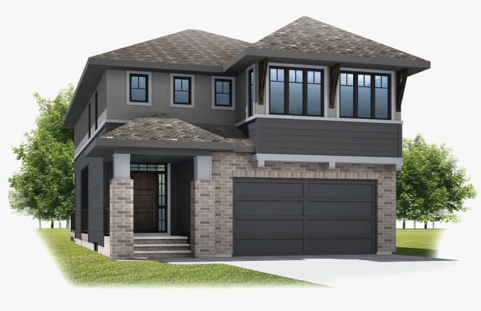 New Calgary Single Family Home Savin in Shawnee Park, located at 338 SHAWNEE BOULEVARD SW Built By Cardel Homes Calgary