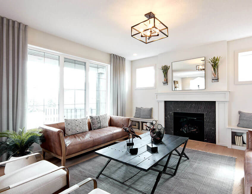 The Ivey Court - 2,688 sq ft - 3 bedrooms - 2.5 Bathrooms -  View Shawnee Park Floorplans  - Cardel Homes Calgary