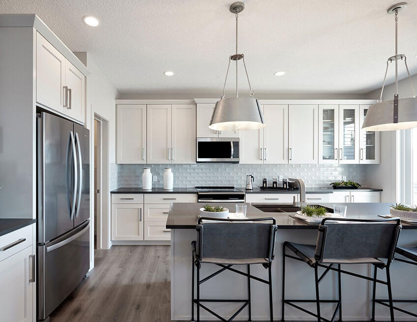 The Strand - 1,988 sq ft - 3 bedrooms - 2 Bathrooms -  View Walden Floorplans  - Cardel Homes Calgary