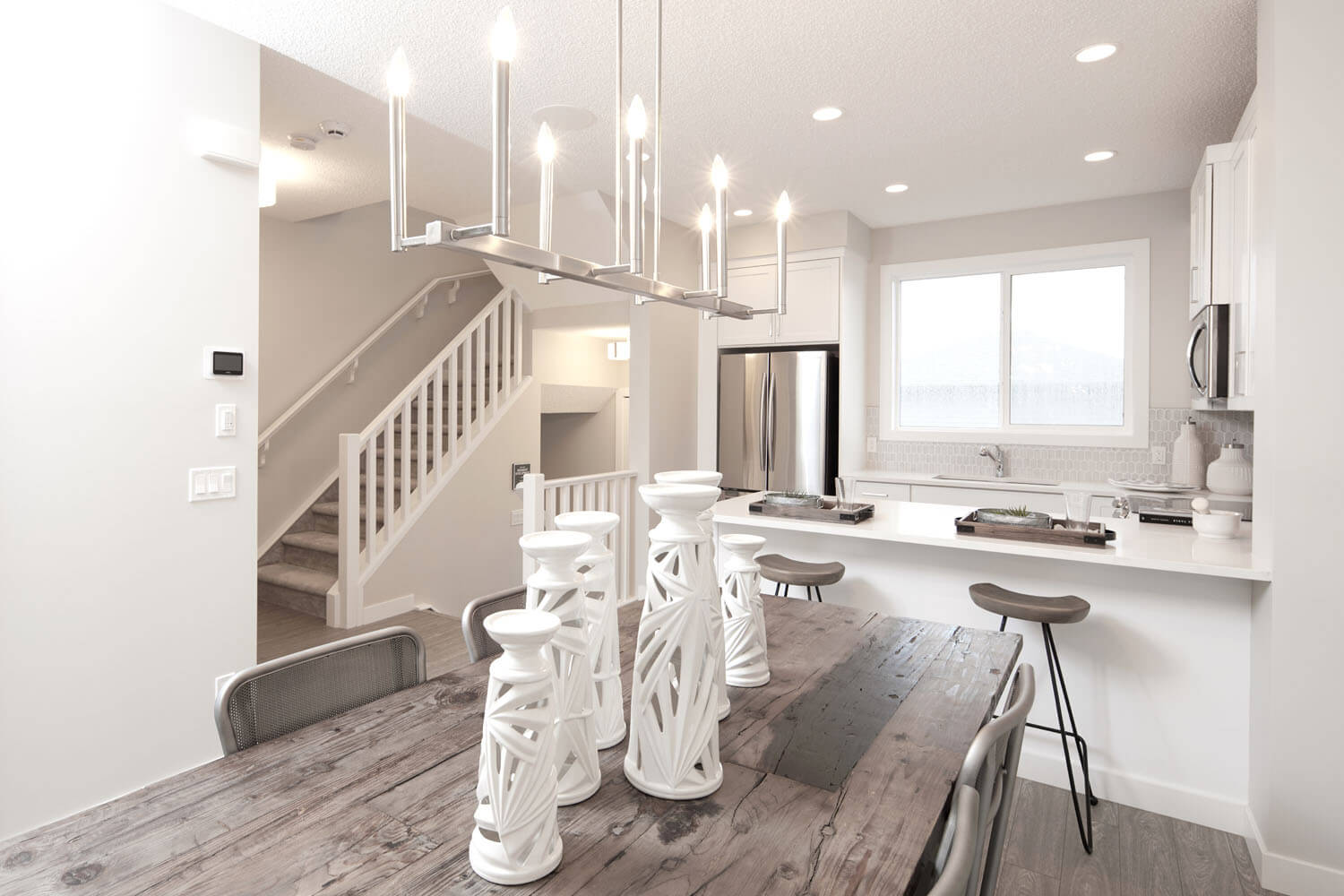 New Calgary  Model Home Sage in Cornerbrook, located at 20 Cornerbrook Way NE Built By Cardel Homes Calgary