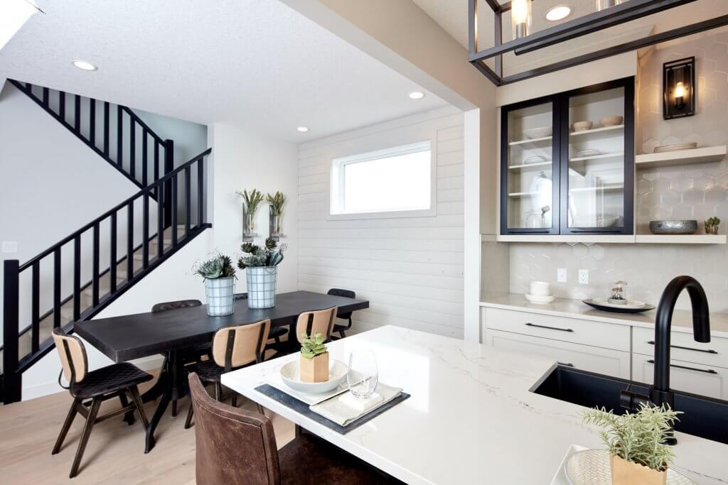 New Calgary Paired Home Quick Possession Soho 2 in Walden, located at 1351 Walden Drive SE Built By Cardel Homes