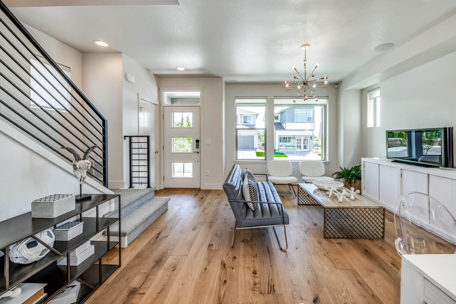 New Denver  Model Home Colette in Westminster Station, located at 6945 Canosa St, Denver Built By Cardel Homes Denver