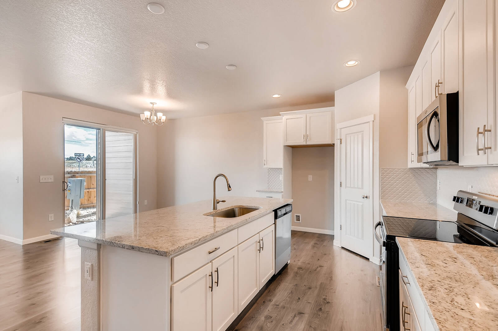 New Denver Single Family Home Quick Possession <b></b>Ponderosa in Lincoln Creek, located at 11921 Barrentine Loop, Parker Built By Cardel Homes Denver
