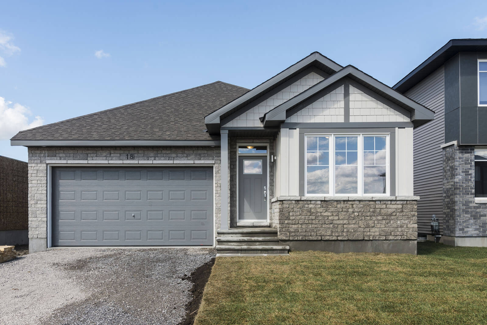 New Ottawa Single Family Home Quick Possession Lancaster in Millers Crossing in Carleton Place, located at 18 Fanning St, Carleton Place Built By Cardel Homes Ottawa