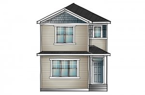 mensa2-Craftsman-C1 Elevation - 1,871 sqft, 4 Bedroom, 3 Bathroom - Cardel Homes Calgary
