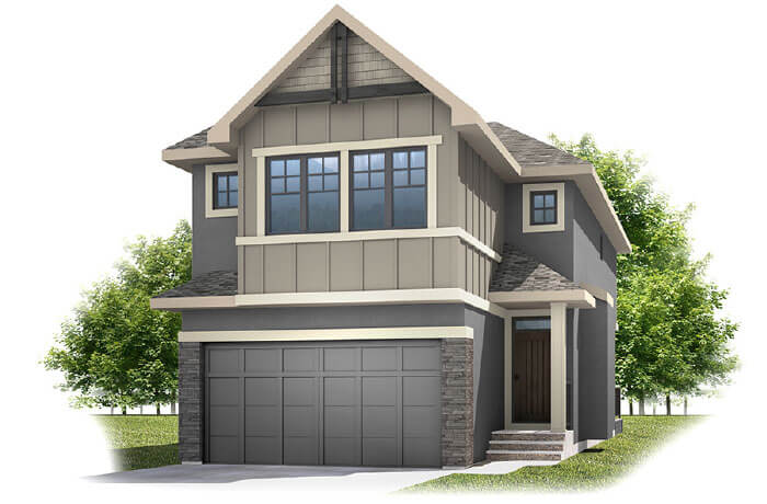 New home in LINDEN in Shawnee Park, 2,882 SQFT, 4 Bedroom, 3.5 Bath, Starting at 630,000 - Cardel Homes Calgary