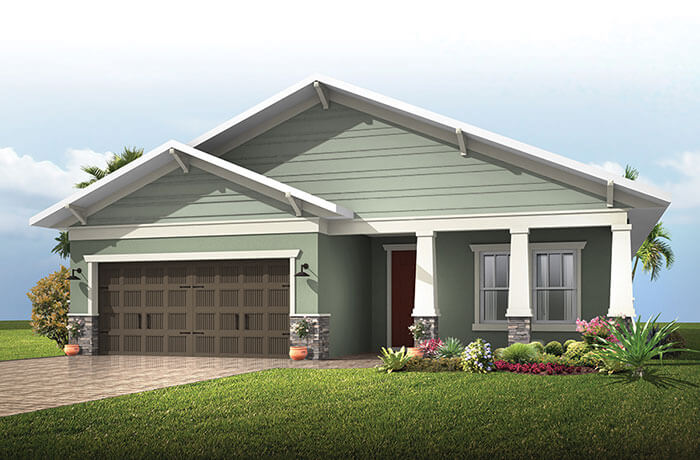 New home in SOUTHAMPTON 2 in Waterset, 2,500 SQFT, 4 - 5 Bedroom, 3 Bath, Starting at 324,990 - Cardel Homes Tampa