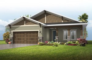 Brighton 2 - Craftsman Elevation - 2,010 sqft, 3-4 Bedroom, 2 Bathroom - Cardel Homes Tampa