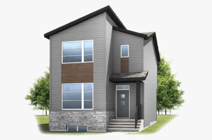 New Calgary Single Family Home Quick Possession Alder 2 in Walden, located at 887 Walgrove Blvd SE Built By Cardel Homes Calgary
