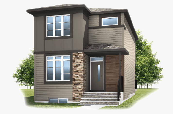 New Calgary Single Family Home Mensa in Shawnee Park, located at 891 WALGROVE BLVD SE  Built By Cardel Homes Calgary