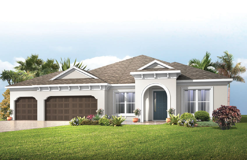 New Tampa Single Family Home Quick Possession Barrett in Bexley, located at 16711 COURTYARD LOOP, <br />