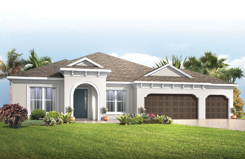 New Tampa Single Family Home Quick Possession Barrett in Bexley, located at 16753 COURTYARD LOOP, <br />