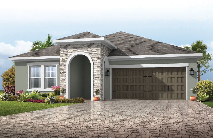 New Tampa Single Family Home Quick Possession Northwood 2 in Waterset, located at 5419 SILVER SUN DRIVE, <br />