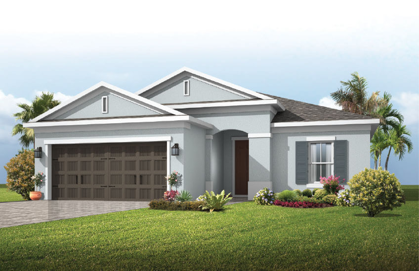 New Tampa Single Family Home Quick Possession Brighton 2 in Waterset, located at 5420 SILVER SUN DRIVE, <br />