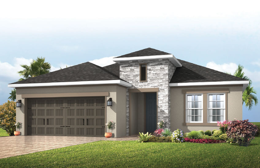 New Tampa Single Family Home Quick Possession Southampton 2 in Waterset, located at 5418 SILVER SUN DRIVE, <br />
