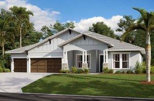 Henley 2.0-Craftsman Elevation - 3,000 - 3,939 sqft, 4-5 Bedroom, 3-4 Bathroom - Cardel Homes Tampa