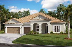 Henley 2.0-Traditional Elevation - 3,000 - 3,939 sqft, 4-5 Bedroom, 3-4 Bathroom - Cardel Homes Tampa