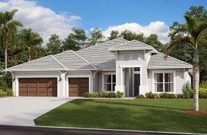 Henley 2.0-West-Indies Elevation - 3,000 - 3,939 sqft, 4-5 Bedroom, 3-4 Bathroom - Cardel Homes Tampa