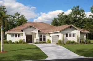 Martin 2.0-Craftsman Elevation - 2,805 sqft, 3-4 Bedroom, 3 Bathroom - Cardel Homes Tampa