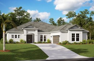 Martin 2.0-Traditional Elevation - 2,805 sqft, 3-4 Bedroom, 3 Bathroom - Cardel Homes Tampa