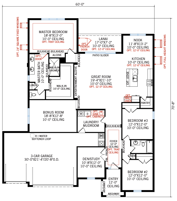 New Tampa Single Family Home Quick Possession Barrett Floorplan in Bexley, located at 16753 COURTYARD LOOP, <br /> LAND O' LAKES, FL 34638 Built By Cardel Homes Tampa