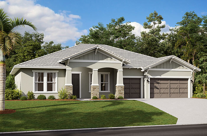 New home in WESLEY in The Preserve at FishHawk Ranch, 2,830 - 3,228 SQFT, 4 Bedroom, 3-4 Bath, Starting at 501,990 - Cardel Homes Tampa