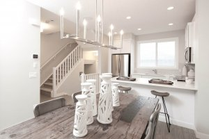 SAGE - Elevation F2 Gallery - cardel homes calgary cornerbrook sage model home 05 - 1,427 sqft, 3 Bedroom, 2.5 Bathroom - Cardel Homes Calgary