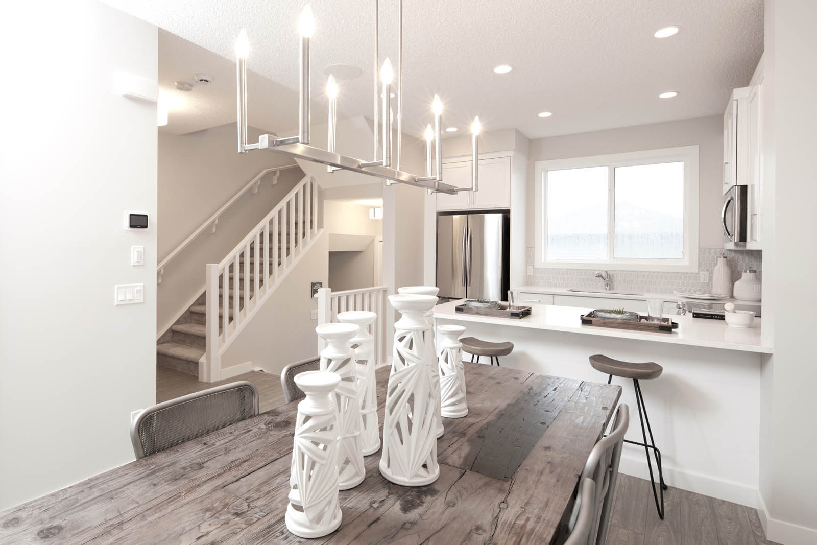 New Calgary Single Family Home Quick Possession Sage in Cornerbrook, located at 20 Cornerbrook Way NE Built By Cardel Homes Calgary