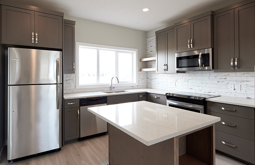 New Calgary Paired Home Quick Possession Soho 1 in Walden, located at 21 Walcrest Gate SE Built By Cardel Homes