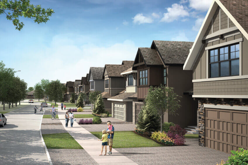 cardel-homes-shawnee-park-neighbourhood-render