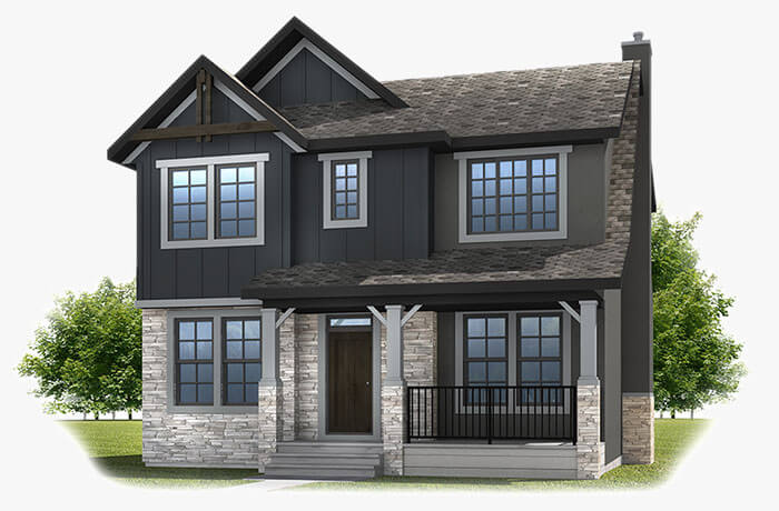 New Calgary Single Family Home Quick Possession Ivey Court in Shawnee Park, located at 350 SHAWNEE BOULEVARD SW Built By Cardel Homes Calgary