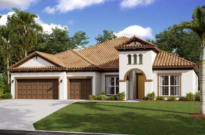 New home in HENLEY in Enclave at Lake Padgett, 3,000 - 3,939 SQFT, 4-5 Bedroom, 3-4 Bath, Starting at 494,990 - Cardel Homes Tampa