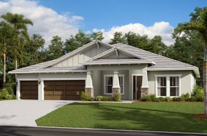 Savannah ENCL - Craftsman Elevation - 3,308 sqft, 4 Bedroom, 3 Bathroom - Cardel Homes Tampa