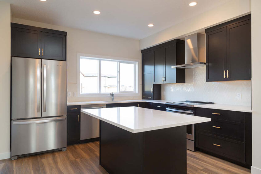 New Calgary Paired Home Quick Possession Cobalt 1 in Savanna, located at 9068 52 STREET NE Built By Cardel Homes