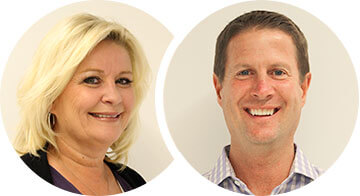 Kelly Bartholomew & Rod Dutcher - Lincoln Creek Sales Manager for Cardel Homes Denver