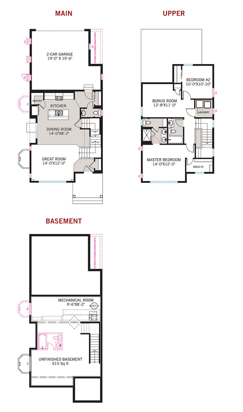 New Denver Single Family Home Quick Possession Teagan Floorplan in Westminster Station, located at 6871 Canosa Street<br />
