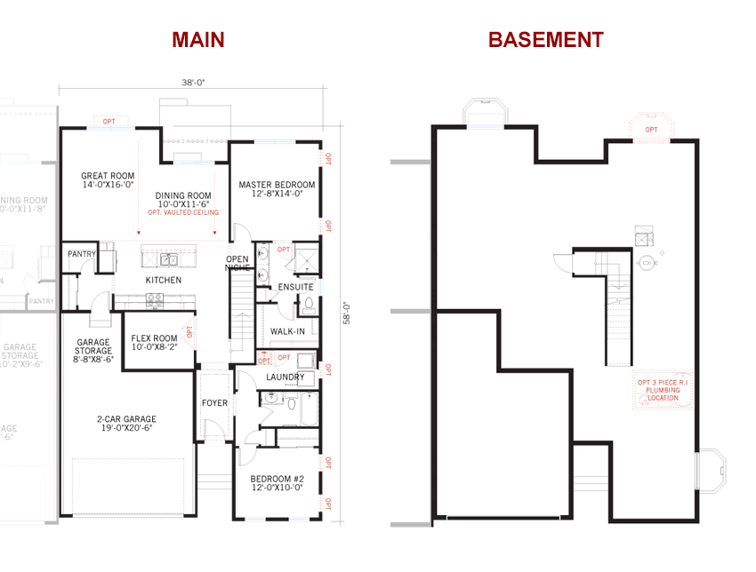 New Denver Single Family Home Quick Possession Willow Floorplan in Lincoln Creek, located at 11909 Barrentine loop, Parker, CO, 80138 Built By Cardel Homes Denver