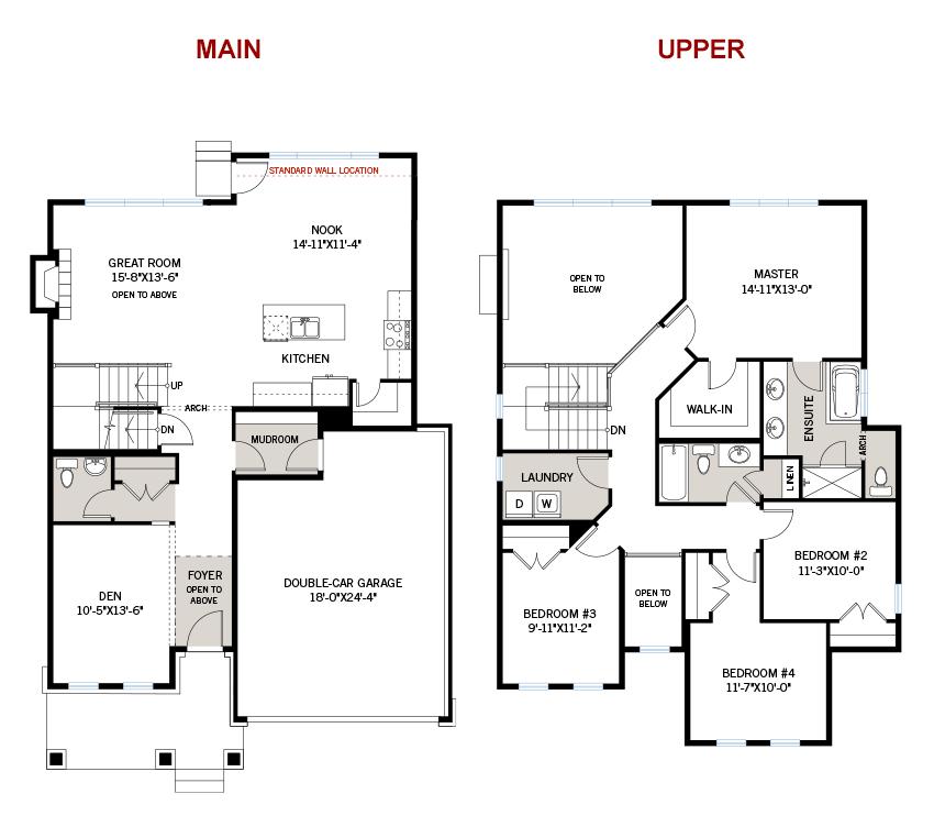 New Ottawa Single Family Home Quick Possession Durham Floorplan in Blackstone in Kanata South, located at 541 Dressage Avenue, Kanata Built By Cardel Homes Ottawa