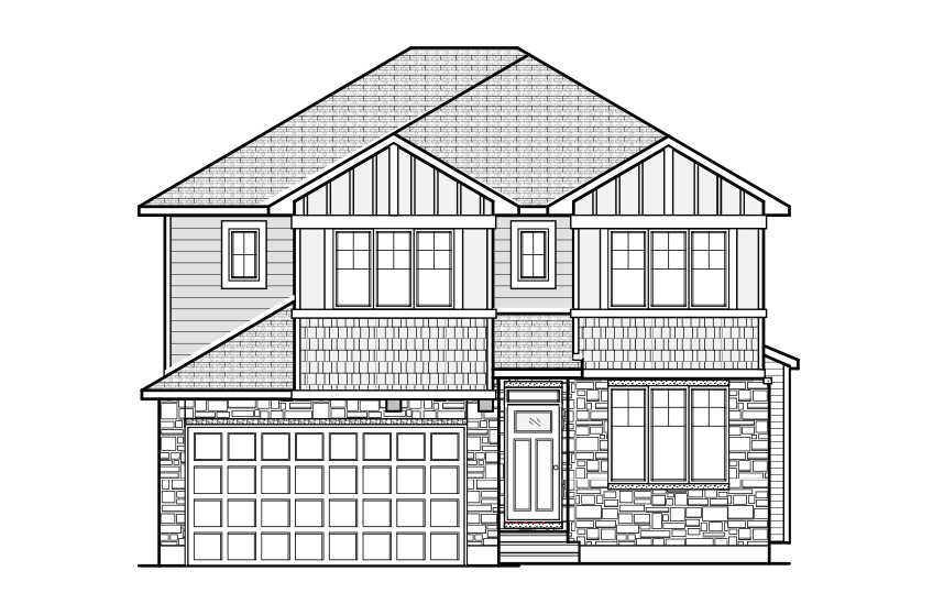 New Ottawa Single Family Home Quick Possession Lincoln in Blackstone in Kanata South, located at 543 Dressage Avenue, Kanata Built By Cardel Homes Ottawa