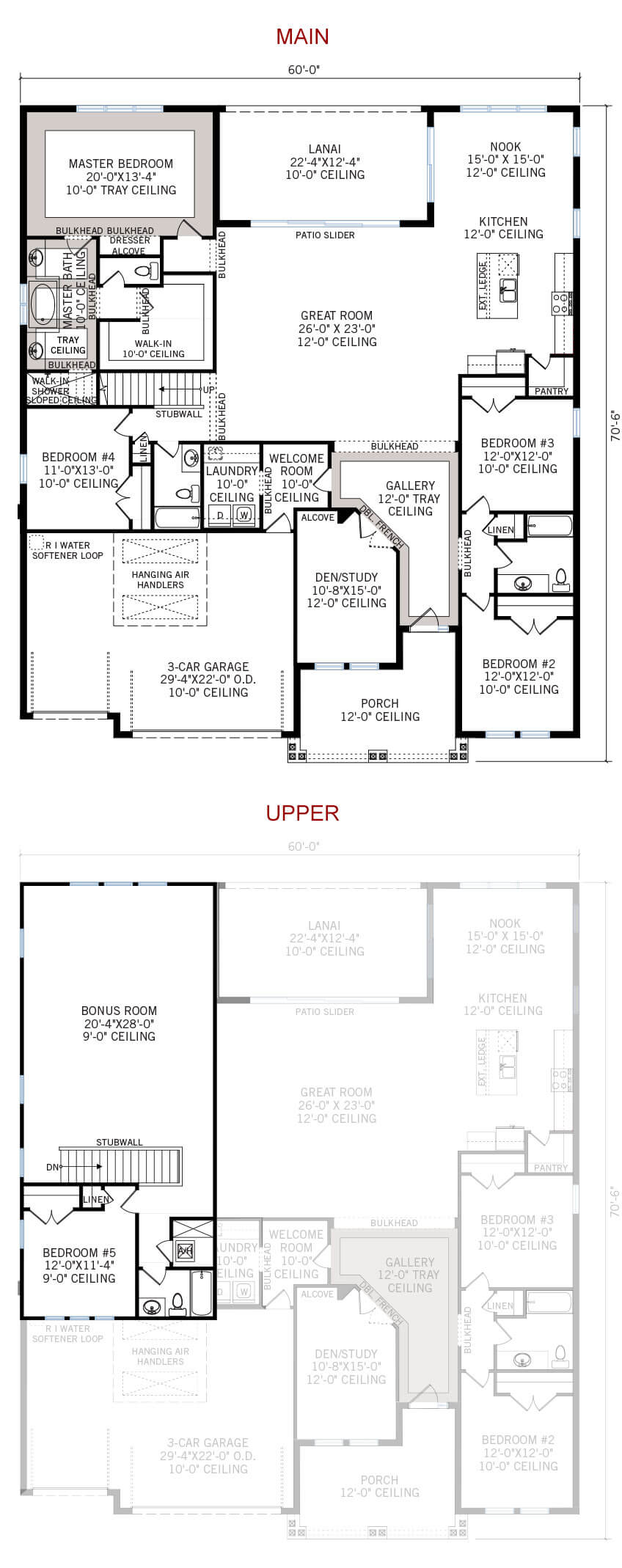 New Tampa Single Family Home Quick Possession Henley Floorplan in Oakwood Reserve, located at 2420 CLEMENT ROAD, LUTZ, FL 33549 (LOT 1) Built By Cardel Homes Tampa