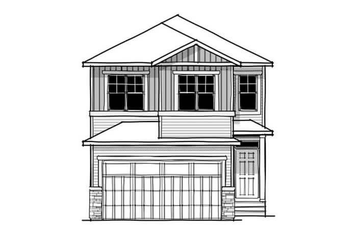 New home in ROHAN 1 in Savanna, 2,202 SQFT, 4 Bedroom, 2.5 Bath, Starting at 520,000 - Cardel Homes Calgary