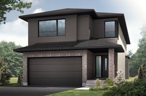 Cordero - Modern A3 Elevation - 2,640 sqft, 4 - 5 Bedroom, 2.5 - 4 Bathroom - Cardel Homes Ottawa