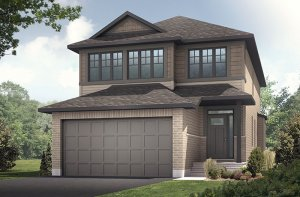 Paloma - Canadiana A1 Elevation - 2,233 sqft, 3 - 5 Bedroom, 2.5 - 4 Bathroom - Cardel Homes Ottawa