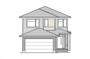Paloma - Modern A3 Elevation - 2,233 sqft, 3 - 5 Bedroom, 2.5 - 4 Bathroom - Cardel Homes Ottawa