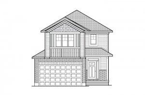 Minetta - Canadiana A1 Elevation - 1,852 sqft, 3 Bedroom, 2.5 Bathroom - Cardel Homes Ottawa