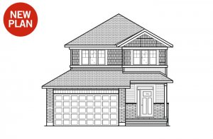 Ashmont - Canadiana A1 Elevation - 1,716 sqft, 3 - 4 Bedroom, 2.5 Bathroom - Cardel Homes Ottawa